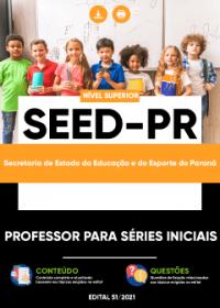 Professor para Séries Iniciais - SEED-PR