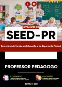 Professor Pedagogo - SEED-PR