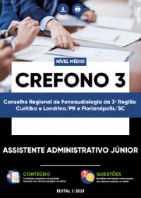 Assistente Administrativo Júnior - CREFONO 3