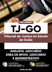 Analista Judiciário - Área de Apoio Judiciário e Administrativo - TJ-GO