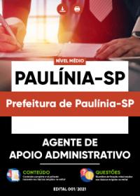 Agente de Apoio Administrativo - Prefeitura de Paulínia-SP
