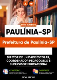 Diretor, Coordenador e Supervisor - Prefeitura de Paulínia-SP