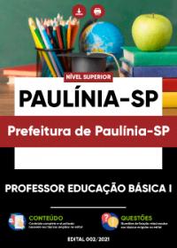 Professor Educação Básica I - Prefeitura de Paulínia-SP