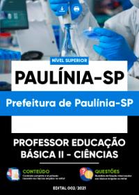 Professor Educação Básica II - Ciências - Prefeitura de Paulínia-SP