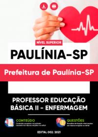 Professor Educação Básica II - Enfermagem - Prefeitura de Paulínia-SP