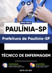 Técnico de Enfermagem - Prefeitura de Paulínia-SP