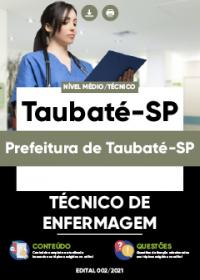 Técnico de Enfermagem - Prefeitura de Taubaté-SP