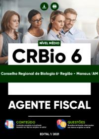 Agente Fiscal - CRBio 6