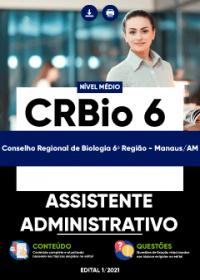 Assistente Administrativo - CRBio 6