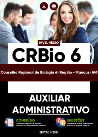 Auxiliar Administrativo - CRBio 6