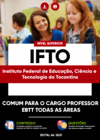 Comum aos cargos de Professor EBTT - IFTO