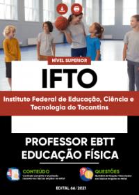 Professor EBTT - Educação Física - IFTO