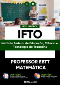 Professor EBTT - Matemática - IFTO