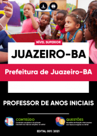 Professor de Anos Iniciais - Prefeitura de Juazeiro-BA