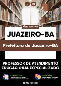Professor de Atendimento Educacional Especializado - Prefeitura de Juazeiro-BA