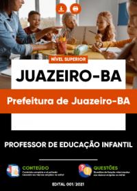 Professor de Educação Infantil - Prefeitura de Juazeiro-BA