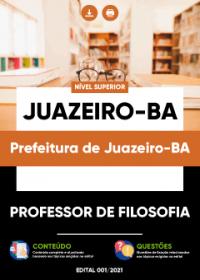 Professor de Filosofia - Prefeitura de Juazeiro-BA