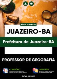 Professor de Geografia - Prefeitura de Juazeiro-BA