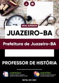 Professor de História - Prefeitura de Juazeiro-BA