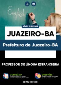 Professor de Língua Estrangeira - Prefeitura de Juazeiro-BA