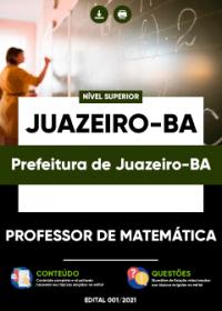 Professor de Matemática - Prefeitura de Juazeiro-BA