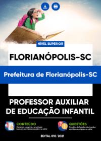 Professor Auxiliar de Educação Infantil - Prefeitura de Florianópolis-SC