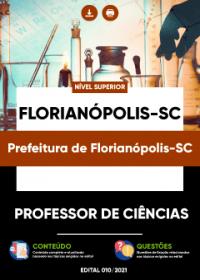 Professor de Ciências - Prefeitura de Florianópolis-SC