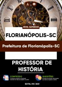 Professor de História - Prefeitura de Florianópolis-SC