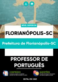 Professor de Português - Prefeitura de Florianópolis-SC