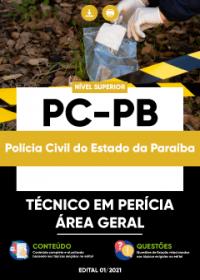 Técnico em Perícia - Área Geral - PC-PB