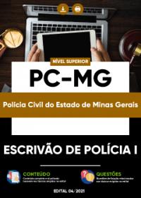 Escrivão de Polícia I - PC-MG