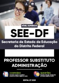 Professor Substituto - Administração - SEE-DF
