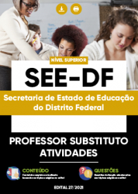 Professor Substituto - Atividades - SEE-DF