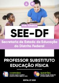 Professor Substituto - Educação Física - SEE-DF
