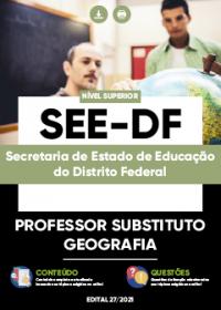 Professor Substituto - Geografia - SEE-DF