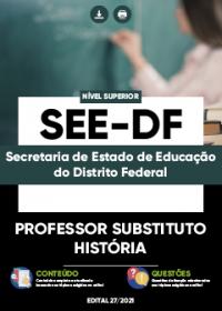Professor Substituto - História - SEE-DF