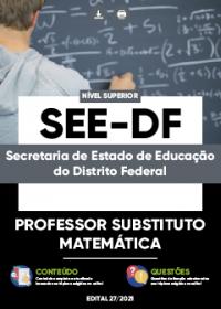 Professor Substituto - Matemática - SEE-DF