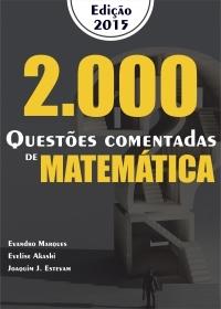 2000 Questões Comentadas - Matemática