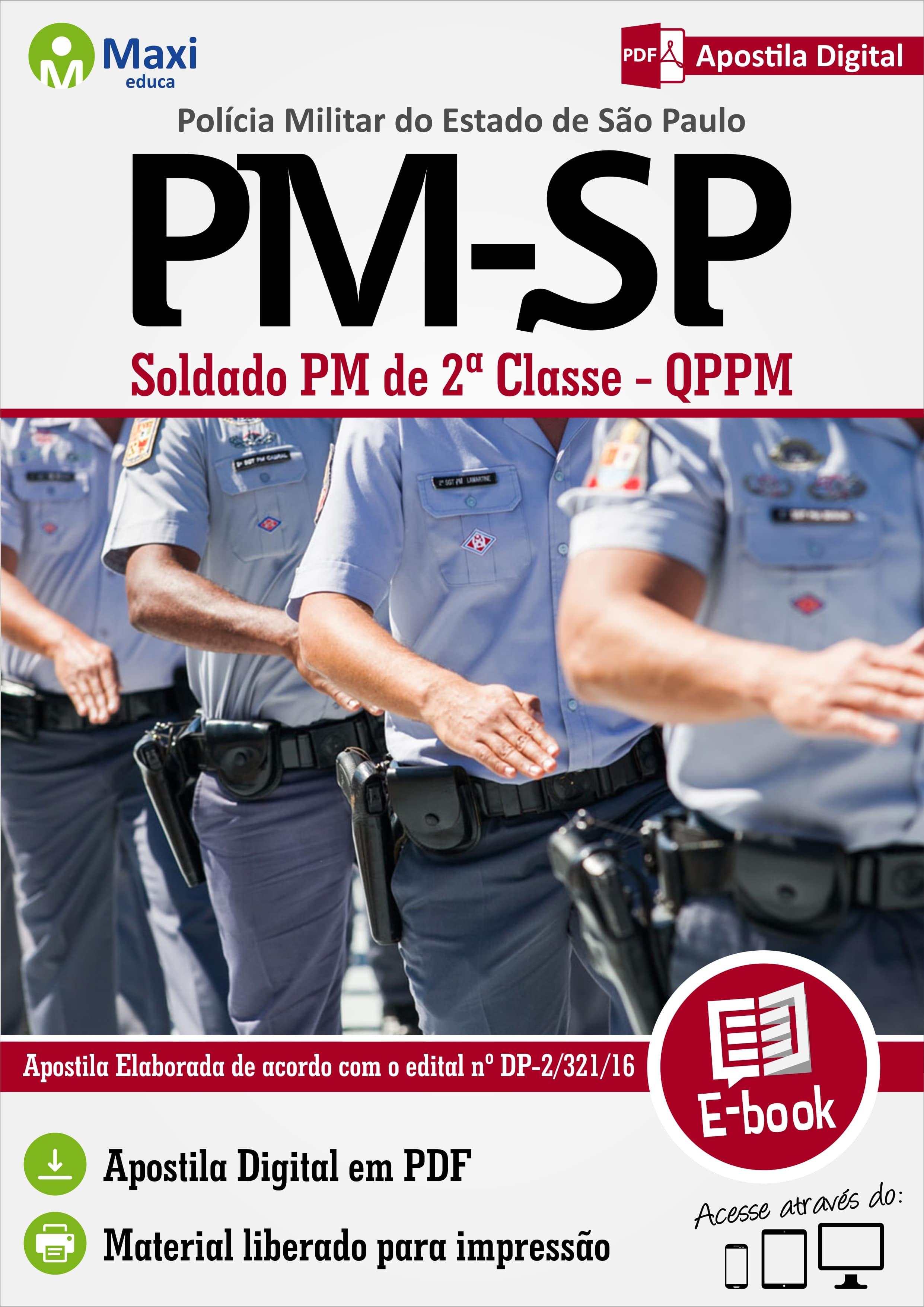 Soldado 2ª Classe - Polícia Militar - SP